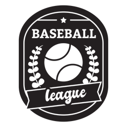 Distintivo de ramos de liga de beisebol