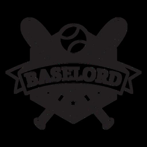 Baselord bats badge