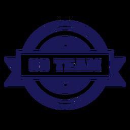 Go team badge