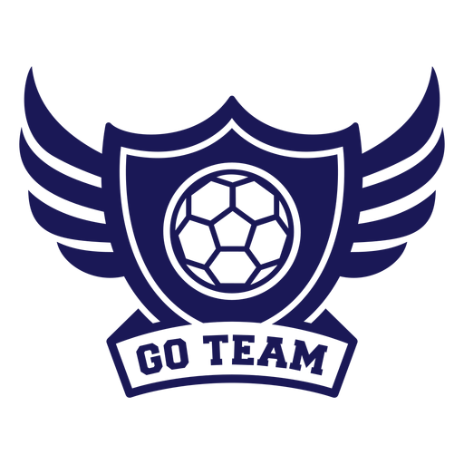 Go team handball wings badge Transparent PNG