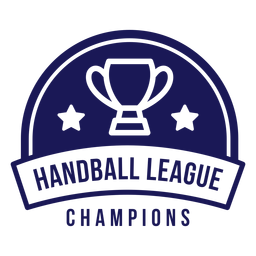 Handball league champions badge