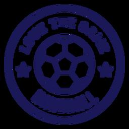 Ame o emblema do jogo de handebol