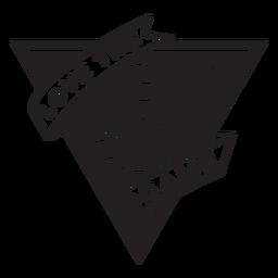 Me encanta la insignia del juego de voleibol