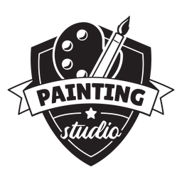 Distintivo de estúdio de pintura