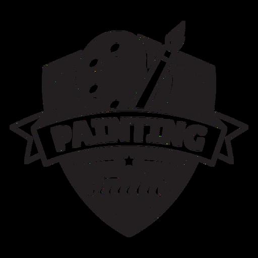 Painting studio badge