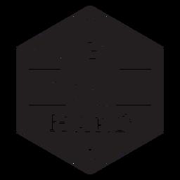 Jogar distintivo de voleibol duro