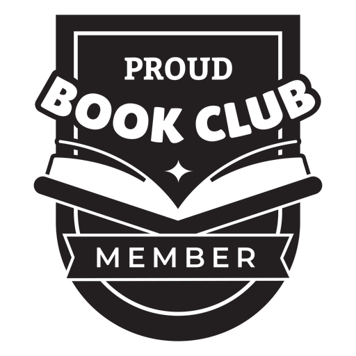 Insignia de miembro orgulloso del club de lectura