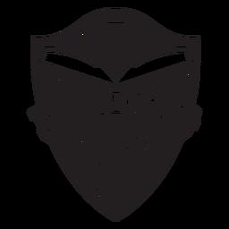Distintivo de amigos de leitura