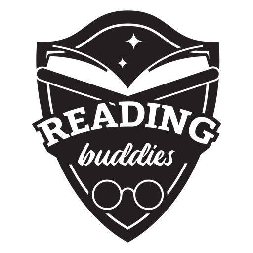 Reading buddies badge Transparent PNG
