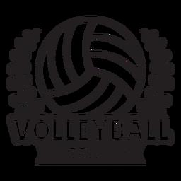 Volleyballmannschaft verzweigt sich Abzeichen