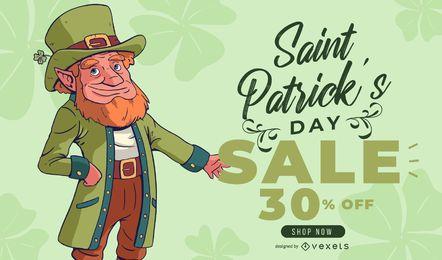 Banner de venta del día de st partick