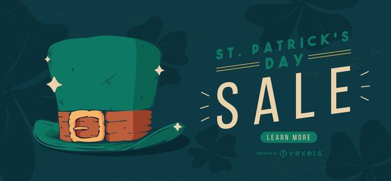St partick's day sale web slider