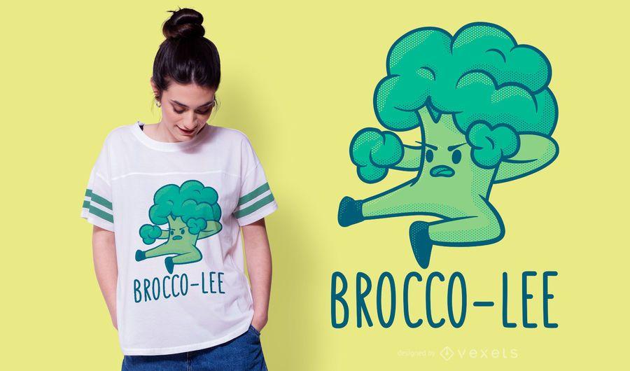 Diseño de camiseta Brocco Lee