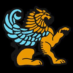Mythical animal illustration