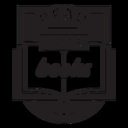 Ler distintivo de livros