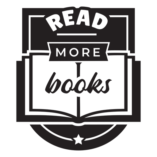 Read books badge Transparent PNG