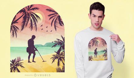 Goldjäger-T-Shirt Entwurf