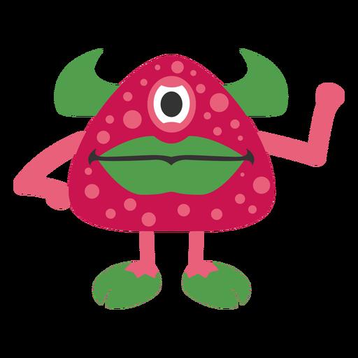 Dibujos animados de fresa monstruo Transparent PNG