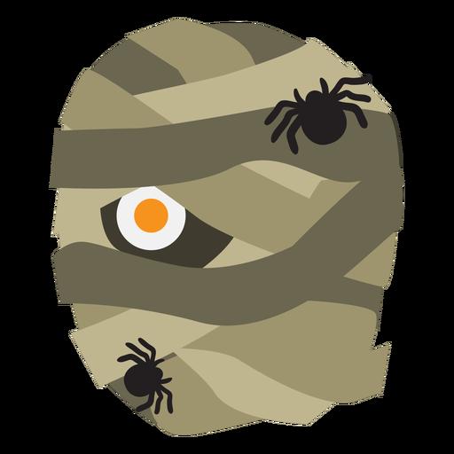 Desenho de aranha múmia Transparent PNG