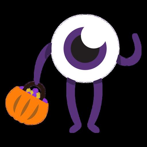 Monstruo de un ojo monstruo de dibujos animados Transparent PNG