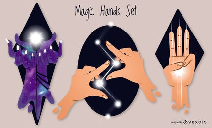 Magic hands set