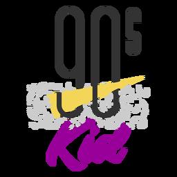 90s kid lettering 90s kid