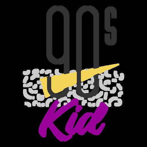 90s kid lettering 90s kid Transparent PNG