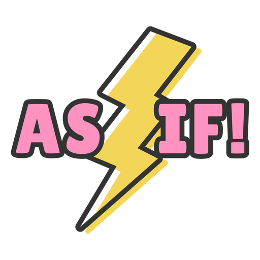 As if retro lettering Transparent PNG
