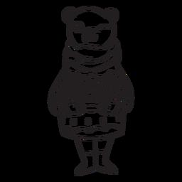 Pastel de oso