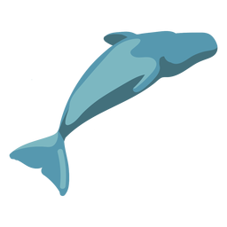 Flat whale image