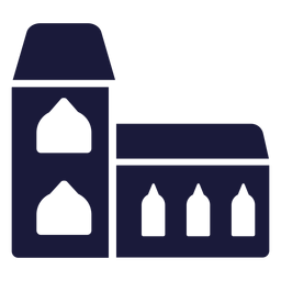 Construção de casa de silhueta