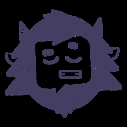 Muñeco de nieve personaje emoji Transparent PNG