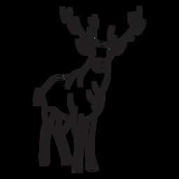 Stroke deer