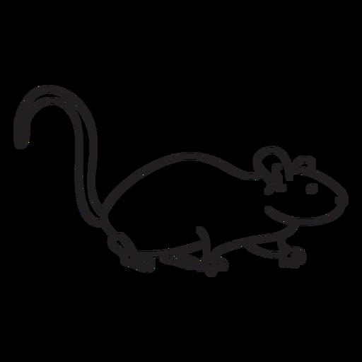 Stroke mouse