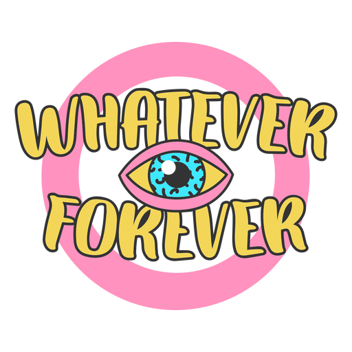 Whatever lettering Transparent PNG