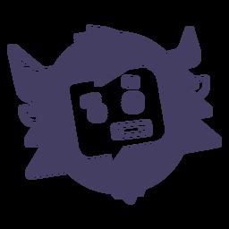 Adesivo personagem Yeti