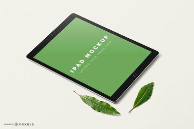 Design de maquete de ipad