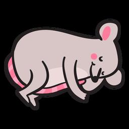 Süße Maus schläft