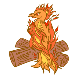Phoenix perching logs
