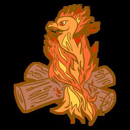 Toras empoleiradas de Phoenix