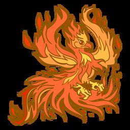 Phoenix abrindo asas