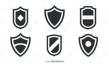 Paquete de escudos básicos