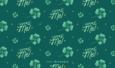 St. Patrick's Day Green Pattern Design