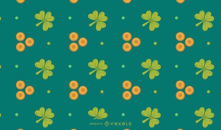 Design de padrão de elemento do St. Patrick