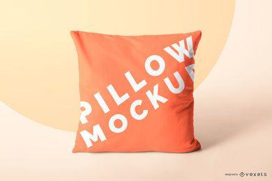 Design de maquete de travesseiro