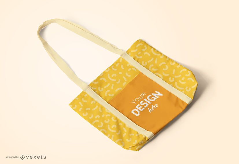 Tote bag mockup design