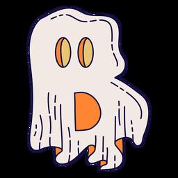 Letra de halloween colorido b