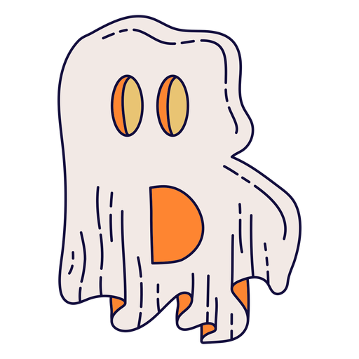 Colorful halloween letter b Transparent PNG