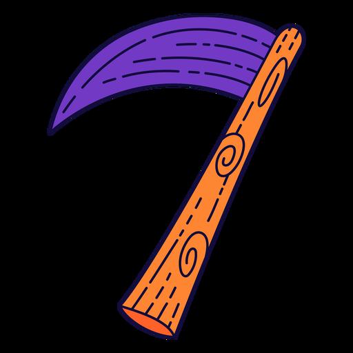 Número de halloween colorido 7 Transparent PNG