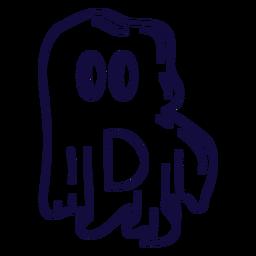 Halloween letter b stroke